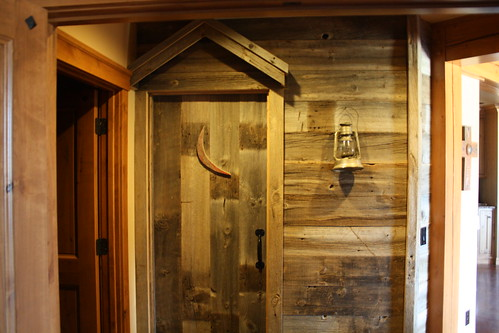 The Double Cross - (Outhouse) Bathroom Door