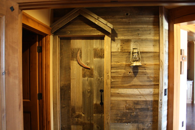 the cross outhouse bathroom door flickr