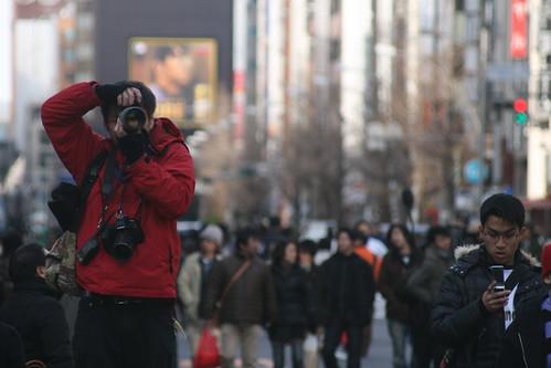 El turista en Japón