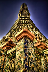 Wat Arun side tower.