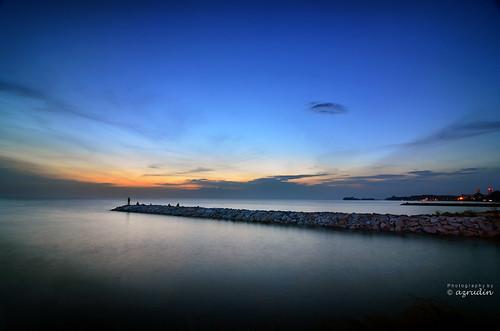 blue sunset sky panorama water nikon tokina1224 scapes exposures longexposures hdcpl azrudin