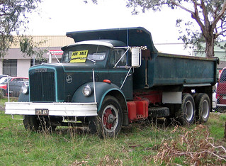 Nice Old White Tipper For Sale In Bayswater
