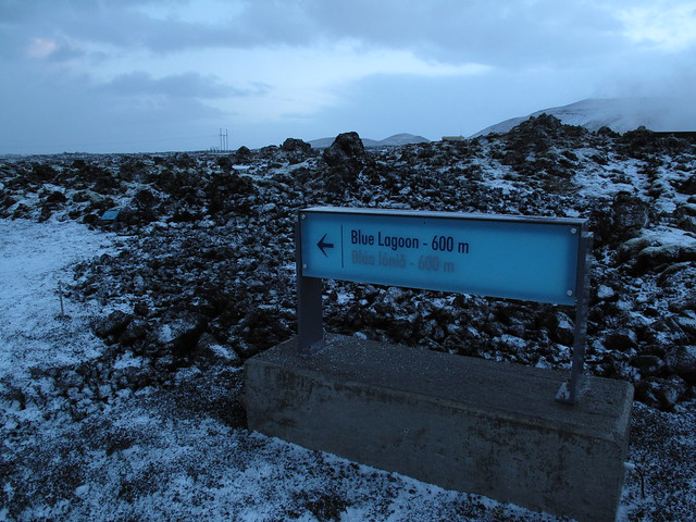Path to the Blue Lagoon
