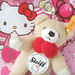 steiff hello kitty ribbon bear 2