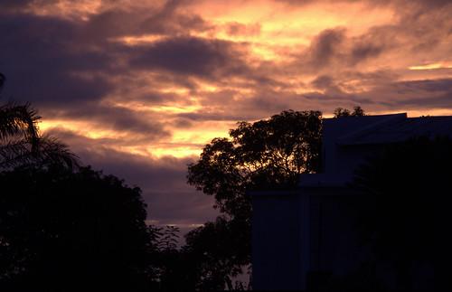 africa sunset nature mozambique zambezia mocuba mugeba