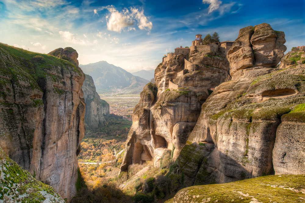 Meteora - High Up Above (HDR Greece)
