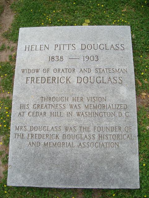 Helen Pitts Douglass | Wife of Frederick Douglass | By ...
