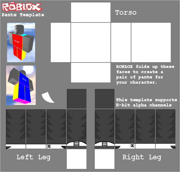 Jeans Template Roblox Roblox Pants Template Jeans