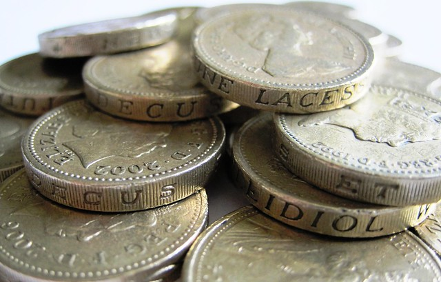 Pound coins. Photo: Images Money.