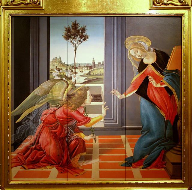 Sandro Botticelli, The Cestello Annunciation, c.1489