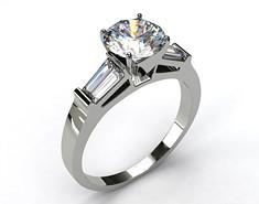 Moissanite Ladies Ring - FRG713