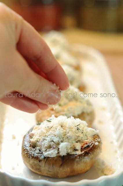 Io cos come sono champignons gratinati al formaggio - Come cucinare champignon ...