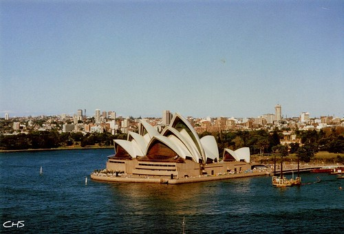 Sydney Opera House, 2nd June 1990 - Australia 1990 - Photo 007 by Stocker Images
