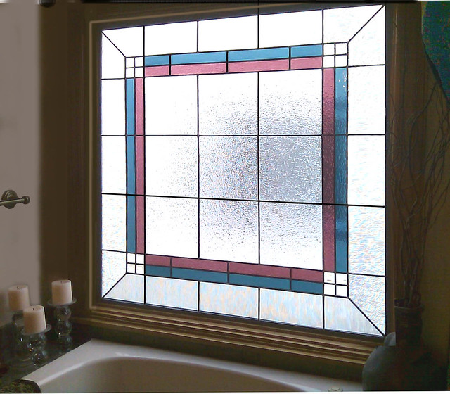 modern bathroom stained glass windows flickr photo sharing