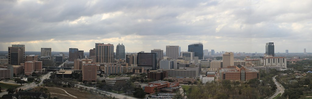 Texas Medical Center Panorama