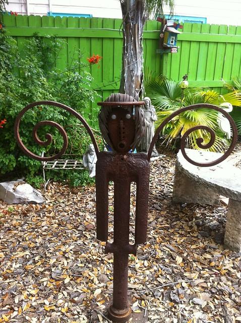 Repurposed Garden Art Flickr Photo Sharing