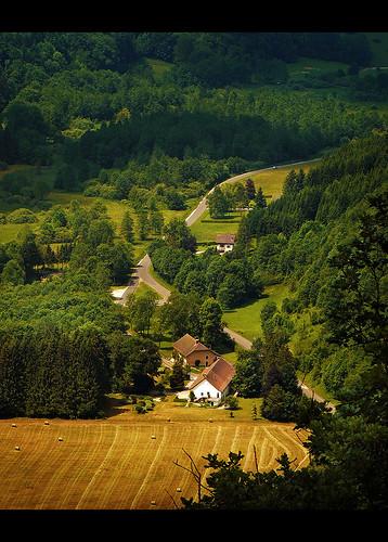 france landscape europe jura