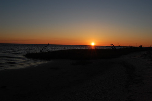 sunset beach darkskies shiredisland