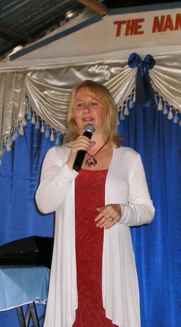Catherine Preaching in Nairobi