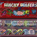 Nestle - Wonka - Wacky Wafers candy package - late 1990's early 2000's