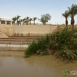 Jordan River as the Border = Rather Close Neighbors