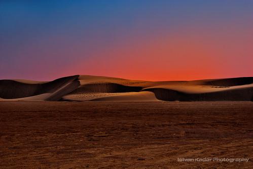 sunrise landscape sand desert tunisia dune sanddune