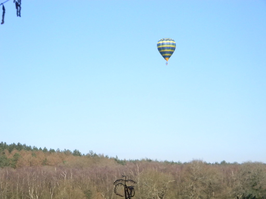 Hot air balloon Farnham to Godalming