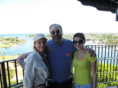 Mary, Bill, and Nina on the Jupiter Lighthouse