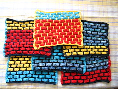 knitted ballband dishcloths