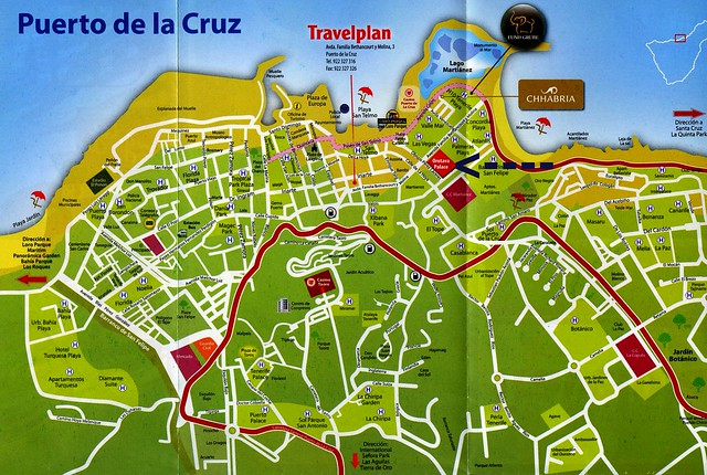 T008 puerto de la cruz karte flickr photo sharing - Puerto de la cruz sehenswurdigkeiten ...