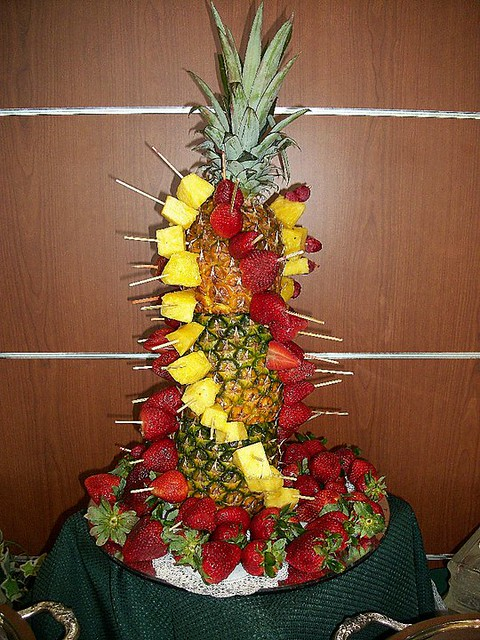 Nalley Lexus Event Pineapple Fruit Tower Explore