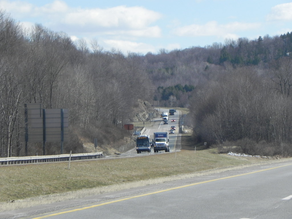 Orion 7 (2nd generation) 4168 NIS along I-81 in Pennsylvania