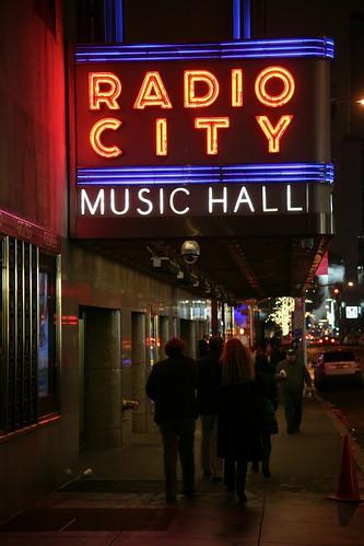 New York City, Manhattan, Midtown West, Radio City Music Hall, 1932. 1260 6th ave (aka Avenue of the Americas )