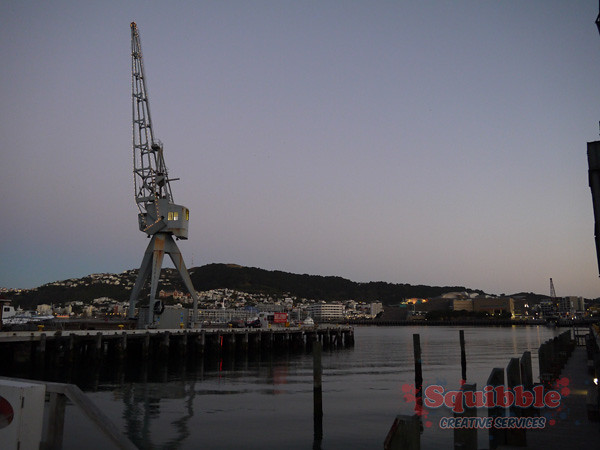 Wellington Waterfront April 2014
