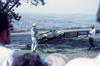 Accident Reid Park Bathurst 500 October 1970