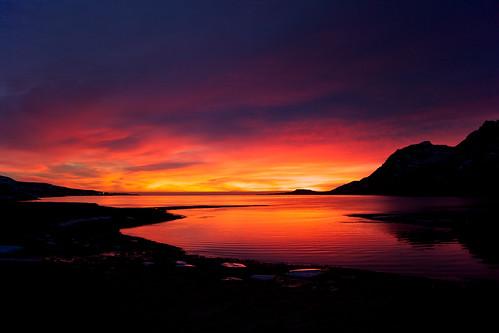 sea sky reflection clouds sunrise iceland 500views ísland ský himinn hafið stöðvarfjörður speglun sólarupprás 25faves stodvarfjordur jónínaguðrúnóskarsdóttir