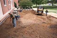 John S. Toll Physics Building Garden Installation
