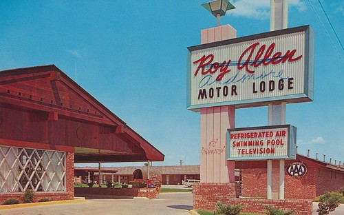 The cardboard america motel archive roy allen motor lodge for Smith motor company wv