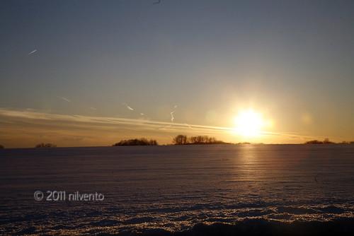 sunset sky sun clouds newjersey horizon nj lumberton drivingby burlingtoncounty project365 34365 dailyshoot february2011 mostly365 fostertownrd ds445