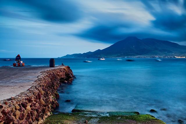 Spain cabo de gata fishing blues flickr photo sharing for Cabo de gata spain