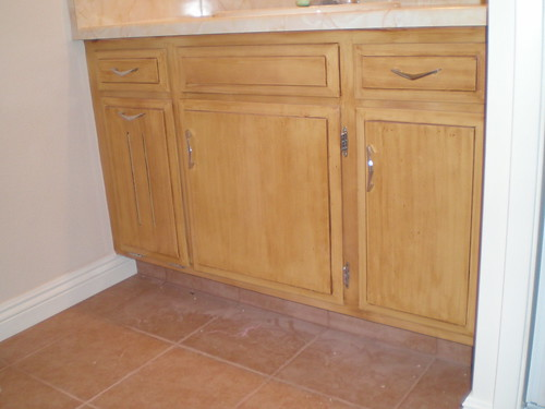 Bathroom Cabinetry Finishing - OC Wide Painting
