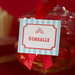 Circus Carnival Candy Buffet Tags