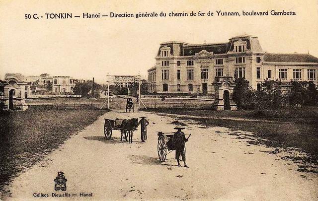 Direction Générale du Chemin de fer de Yunnam - Boulevard Gambetta