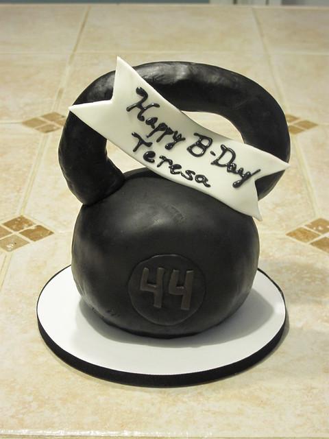 Kettlebell Cake Mold