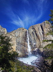 Yosemite Falls and Snow cone