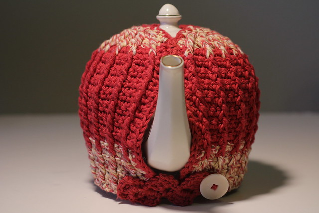Square Crochet Wine Bottle Cover Pattern