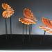 """Swooping"" Horsehair Raku Sculpture"