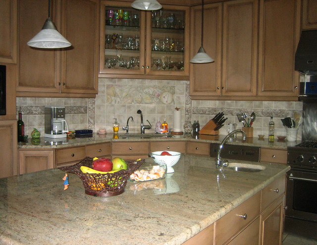 kitchen faux backsplash flickr photo sharing