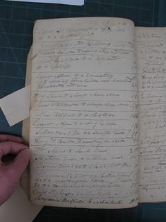 Robert G. McEwen Saddler's Account Book, 1829-1833