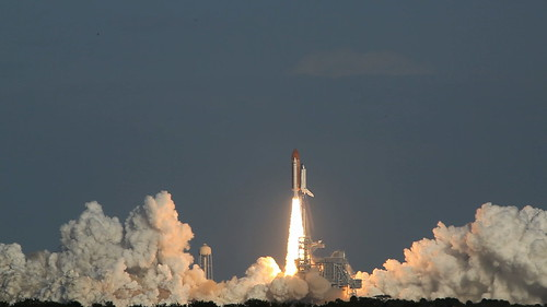 STS-133 liftoff